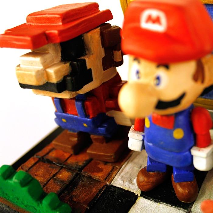 Evolution of Mario. (Foto: Minty Fresh)