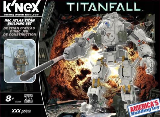 Atlas Titan. (Foto: K'NEX)