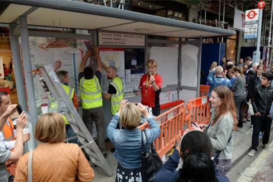 Lego Bus Stop (Foto: standard.co.uk)