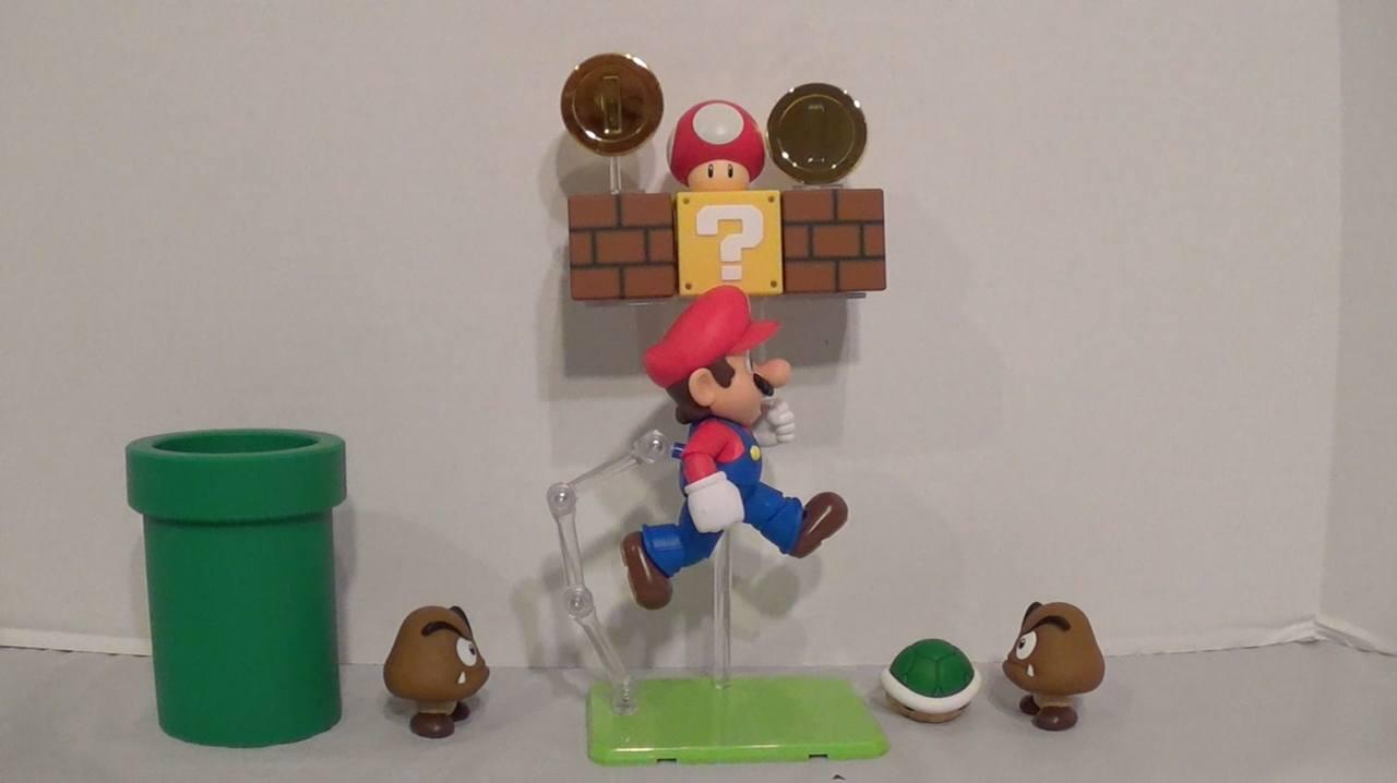 Super Mario Bros Bastelt euch ein Level aus dem Spiel