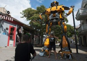 Transformers. (Foto: Stevo Vasiljevic/Reuters)
