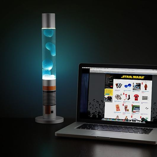 """Sie bietet nicht viel Licht, gehört aber trotzdem in jede """"Star Wars""""-Sammlung. (Foto: ThinkGeek.com)"""
