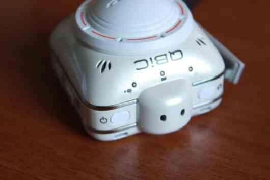 Die Mikros sind hier zu erkennen. (Foto: GamingGadgets.de)