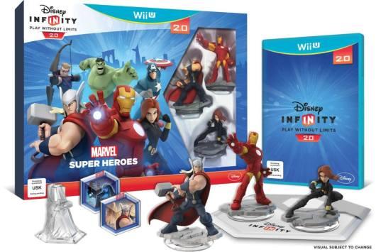 Ein Starter-Set. Neben Wii U gibt es dieses auch für Xbox 360, Xbox One, PlayStation 3 oder PlayStation 4. (Foto: Disney Interactive)