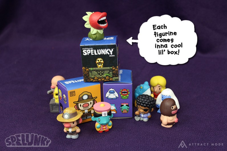 Spelunky Minis. (Foto: Fungamer)