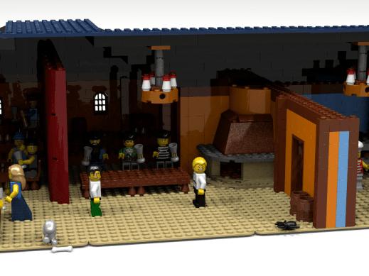 LEGO Scumm Bar. (Foto: Alessandra Guttusso)