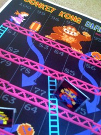 Donkey Kong Brettspiel. (Foto: Etsy)