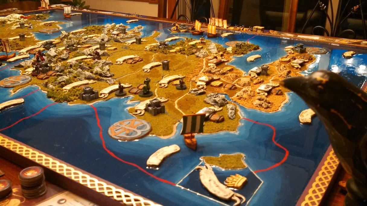 A Game of Thrones Board Game. (Foto: Aufwändig und durchaus spektakulär. (Foto: Aaron Jenkins)