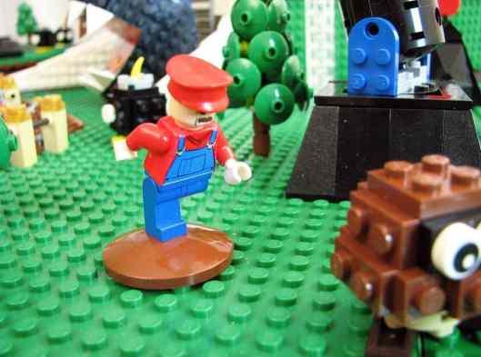 LEGO Mario 64. (Foto: Matt De Lanoy)