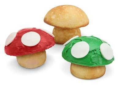 1-Up Mushroom Cupcake Pan. (Foto: ThinkGeek)