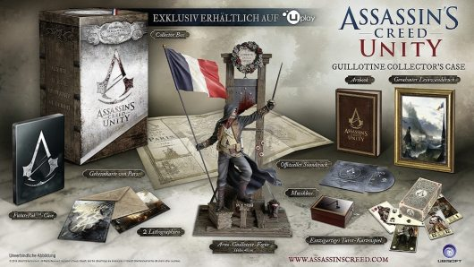 Das Guillotine Collector's Case ist das beste Paket für Sammler. (Foto: Ubisoft)
