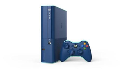 Schön anzusehen - die blaue Xbox 360. (Foto: Microsoft)