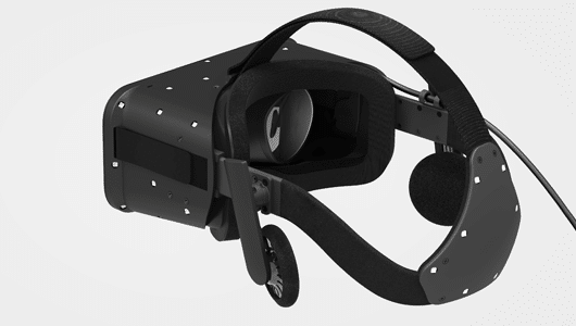 Man soll wohl die Kopfhörer abnehmen können. (Foto: Oculus VR)