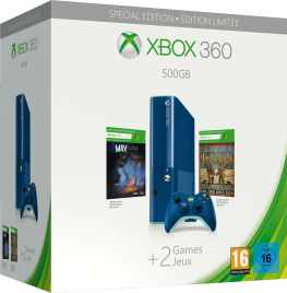 Blaue Xbox 360. (Foto: Microsoft)