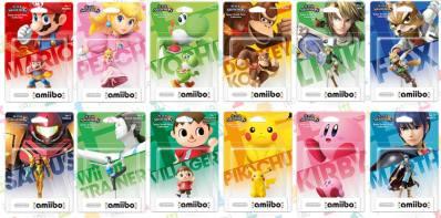 Set 1 mit den ersten 12 Figuren. (Foto: Nintendo)
