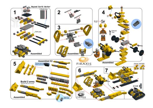 So könnte der Baukasten aussehen. (Foto: LEGO Ideas)