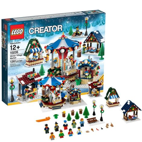 LEGO Winterlicher Markt. (Foto: LEGO)