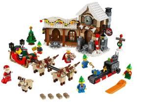LEGO Weihnachtliche Werkstatt. (Foto: LEGO)