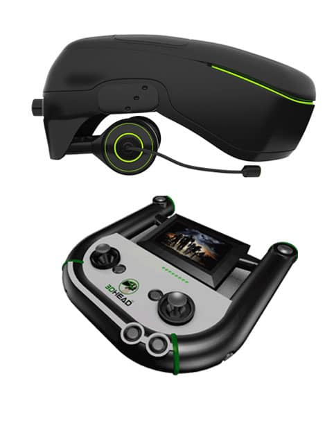 Helm mit Controller. (Foto: 3DHead)