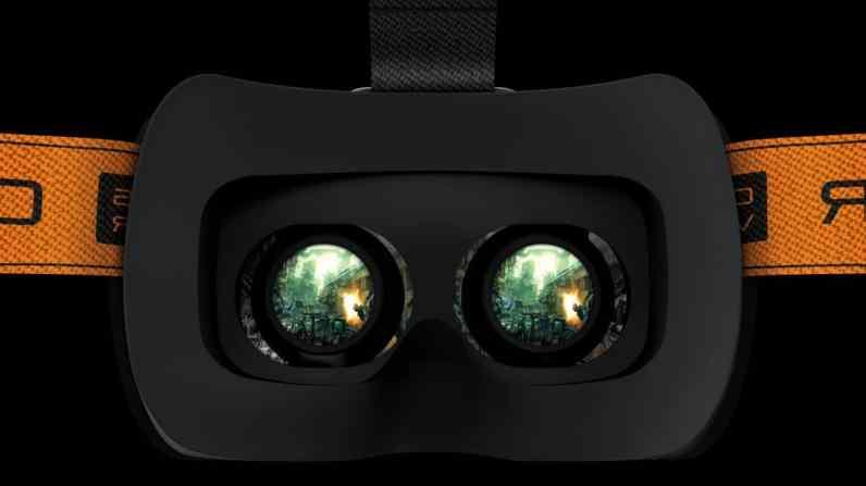 Razer VR-Brille. (Foto: Razer)