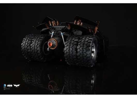 Batman Tumbler. (Foto: Soap Studio)