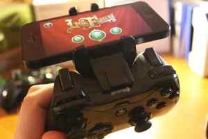 Nicht optimal gelöst: Clip vom kleinen Controller. (Foto: GamingGadgets.de)