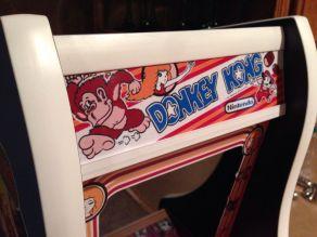 Donkey Kong Bartop Arcade. (Foto: Instructables)