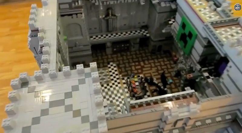 LEGO Minecraft Dieses Gewaltige Schloss Gibts Nicht Zu Kaufen