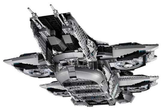 LEGO Shield Helicarrier. (Foto: LEGO)