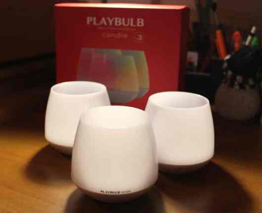 Hier im Bild: das Deierpack der PlayBulb Candle. (Foto: GamingGadgets.de)