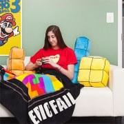 Tetris 3D Cushions: Riesige Kuschelkissen für die Couch