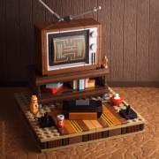 My Old Basement: Winziges Retro-Spielzimmer aus LEGO