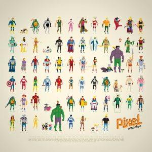 Pixel Nostalgia. (Foto: Society 6)