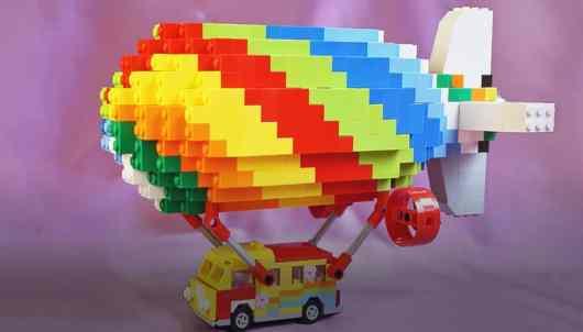 Dieses Hippie-Luftschiff wird wohl bald realisiert. (Foto: PlayWorld)