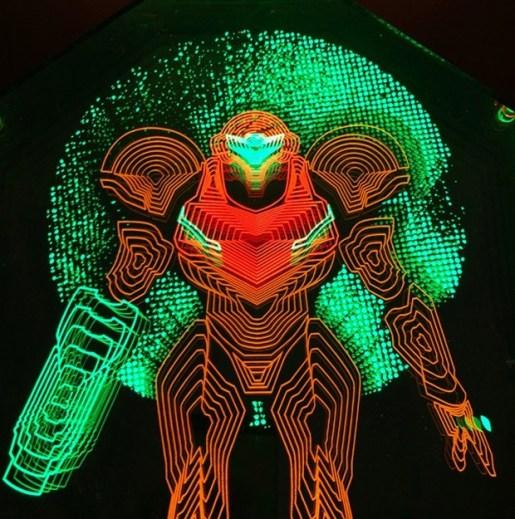 LED-Lichtkunst. (Foto: TheDailyRobot)