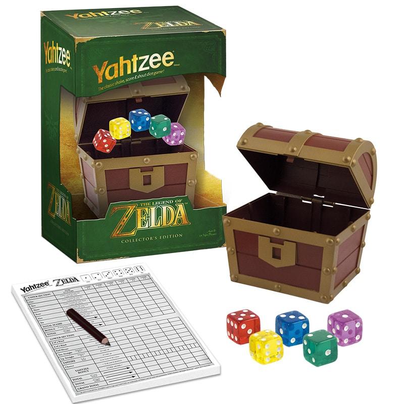 ... greifen sie bestimmt zur Yahtzee The Legend of Zelda Collector's Edition (Foto: USAopoly)