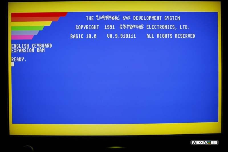 Das Betriebssystem des Rechners. (Foto: MEGA65)