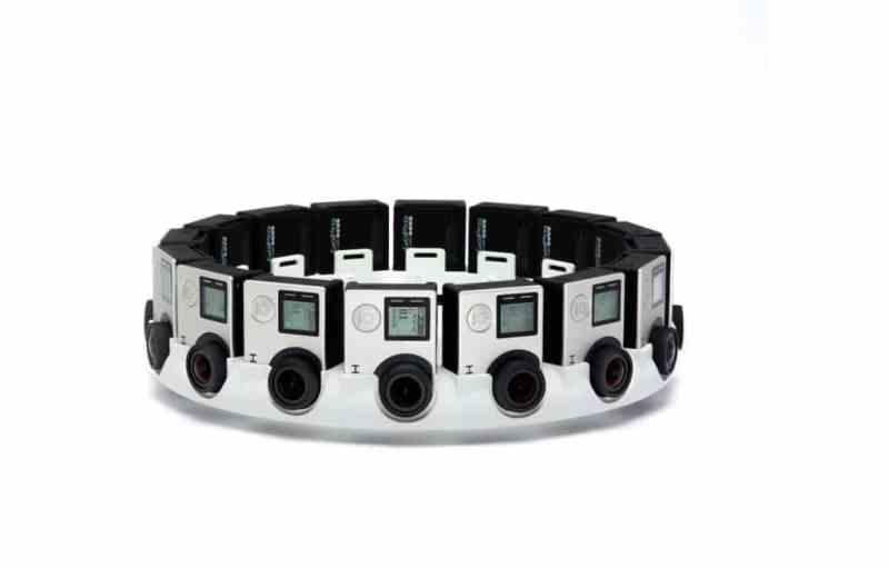 16 GoPro-Kameras erzeugen 3D-Inhalte. (Foto: Google)