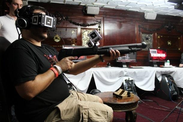"""So sieht es aus, wenn ihr """"The Walking Dead VR"""" spielt. (Foto: GameInformer)"""