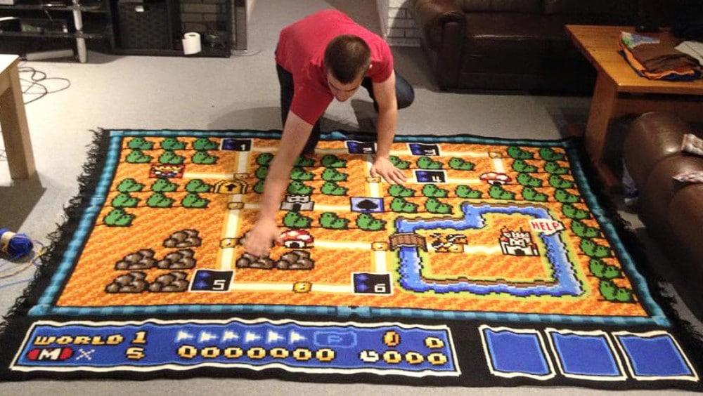Super Mario Bros. 3: Fan häkelt sechs Jahre (!) an riesigem ...