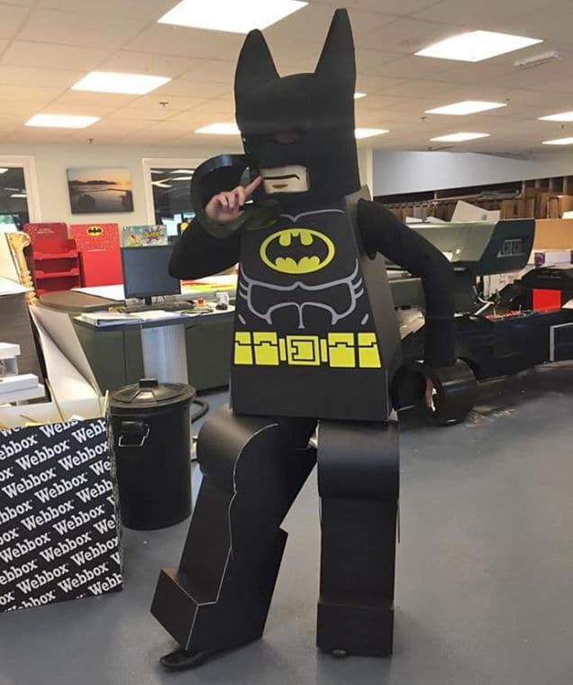 Eines der Kostüme. Verrückt. (Foto: redbullsoapboxrace.com)