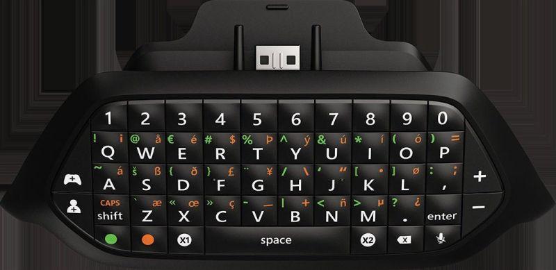 Das Chatpad für den Xbox One-Controller. (Foto: Microsoft)