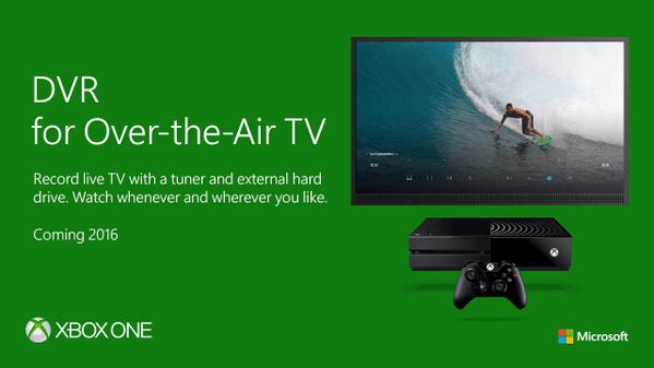 DVR für die Xbox One kommt. (Foto: Microsoft)