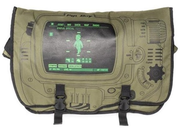 Pip-Boy Messenger Bag. (Foto: ForbiddenPlanet)Pip-Boy Messenger Bag. (Foto: ForbiddenPlanet)