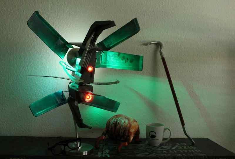 Mal eine etwas andere Lampe, was? (Foto: Julian Ritter)