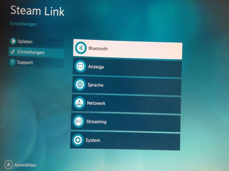 Valve bietet keine unzähligen Optionen an. Wieso auch? (Foto: GamingGadgets.de / Screenshot)