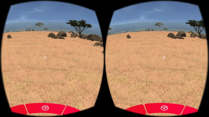 Die View-Master: Wildlife-App funktioniert jetzt auch mit Gear VR. (Foto: Sven Wernicke)