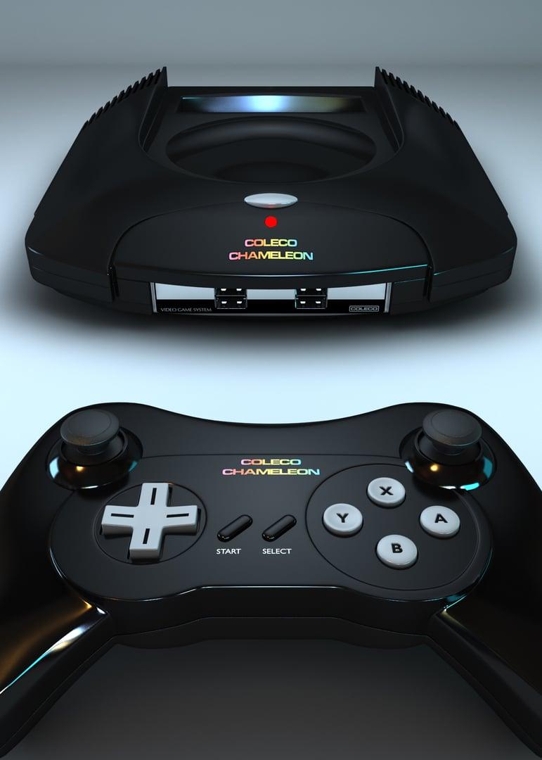 Moderne tritt auf Vergangenheit. Das Design lehnt sich noch immer an einen Atari Jaguar an. (Foto: Retro VGS)