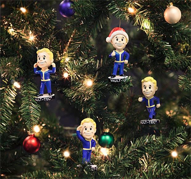 Vault Boys aus Fallout 4 als Baumbehäng. (Foto: ThinkGeek)