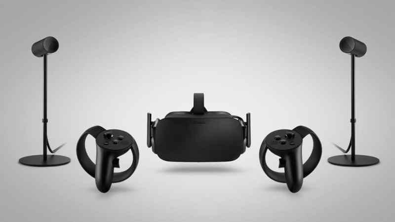 Sensoren für räumliche Ortung, Brille und Touch-Controller. (Foto: Oculus VR)
